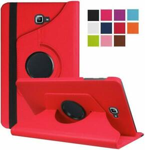 """For Samsung Galaxy Tab A 10.5 """" 2016 Leather 360 Rotating Case Flip Smart Cover"""