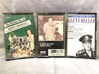 Cassette Tape Lot Glen Miller Benny Goodman