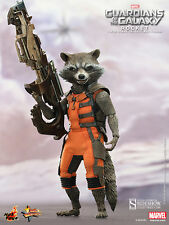 Hot Toys Guardians of the Galaxy ROCKET RACCOON 1/6 Scale Action Figure MMS252