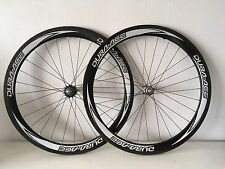 Dura Ace C50 tubular custom track wheelset