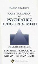 Kaplan and Sadock's Pocket Handbook of Psychiatric Drug Treatment-ExLibrary