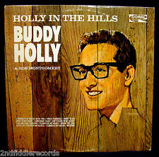 BUDDY HOLLY-Holly In The Hills-Great Album From 1965- CORAL #CRL 57463-Colorband