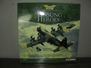 """CORGI HERCULES AC-130A """"GUNSHIP"""" AIRCRAFT UBON RTAFB THAILAND DIE-CAST 1:144 NEW"""