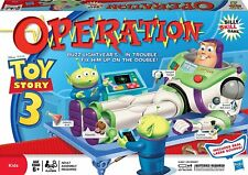 TOY STORY 3 OPERATION Board game Hasbro Buzz Lightyear Patient NEW