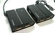 LOT of 2 Sapphire DisplayPort DP to Dual DVI Expander 4L000-02-40G VID-2X *READ