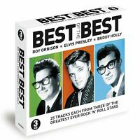 Best Of The Best - Roy Orbison / Elvis Presley / Buddy Holly 3CD NEW/SEALED
