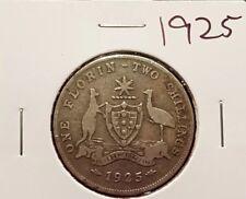 1925 australian florin coin
