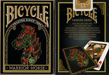WARRIOR HORSE BICYCLE DECK PLAYING CARDS BY USPCC CHINESE NY 2014 MAGIC TRICKS