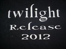 2012 Twilight Movie Release Forget Edward Im team Nagrocki Shirt-XL