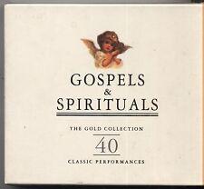 Gospels & Spirituals 40 Classic - MAHALIA JACKSON 2 CD 1995 NEAR MINT CONDITION