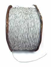 5m 2C Teflon Wire OD=φ1.6mm Multi Strand Copper Silver-plated φ0.15mm x19C 22AWG
