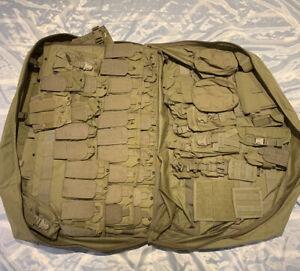 Eagle Industries SFLCS Kit, Khaki. 84 Pieces, Recon Vest, MAP