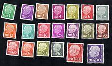 SAAR Germany France 1957 #263-282 MNH
