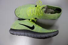 Nike libre RN Motion Flyknit Para Hombre Zapatillas UK 10 EU45 US11 Amarillo