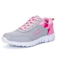 Damen Outdoor Sneaker Atmungsaktiv Sportschuhe Turnschuhe Laufschuhe Freizeit