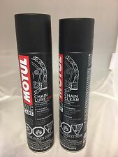 Motul C1 C2 CHAIN LUBE ROAD AND CLEANER  ORING AND NON ORING CHAIN