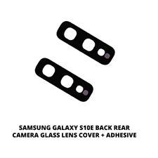 Для Samsung Galaxy S10E задняя камера стеклянный объектив замены чехол + клей