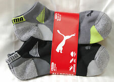 PUMA Mens Socks Sport Lifestyle 6 Pair Shoe Size 6-12 Low Cut Athletic