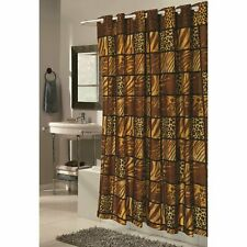 """Carnation Shower Stall-Sized EZ-ON® """"Wild Encounters"""" Polyester Shower Curtain"""