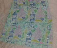 Vineyard Vines Little Girls Lighthouse Boat Nautical Skirt Sz 8 💙Cute🚢🚤⚓🚣