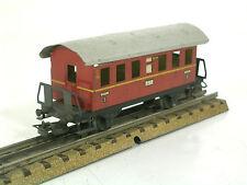 Märklin H0 00 seltener Personenwagen 327/2 Donnerbüchse rot zu S 870  800