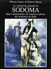 LE 120 GIORNATE DI SODOMA : Volume a fumetti erotico ed. GLITTERING