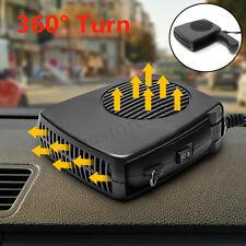 12V 200W Car Auto Heater 2-in-1 Ceramic Cooler Dryer Fan Defroster Demister