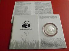 * Madagascar 20 Ariary 1988 Silber PP(ca.19,44g.)*WWF* Lemur (ALB20)