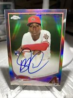DIDI GREGORIUS RC ON CARD AUTO 2013 TOPPS CHROME REFRACTOR SP #/499 YANKEES
