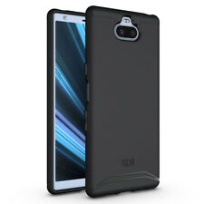 TUDIA Slim-Fit MERGE Dual Layer Protective Cover Case for Sony Xperia 10 Plus