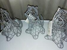 Chien Topiaire Cadre ~ enrobés Plastique Jardin ornements (charnière) 19cmx18cmx14
