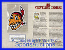 1948 CLEVELAND INDIANS Willabee Ward COOPERSTOWN COLLECTION BASEBALL TEAM PATCH