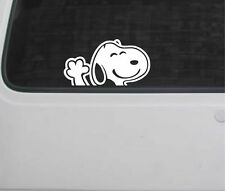 Snoopy Onda Coche Decal Sticker VW T4 T5 Camper Bahía Dividida Transporter Beetle Bug