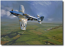 Mustang Ace (Artist Proof) by Jack Fellows - P-51 Mustang - Aviation Art Prints