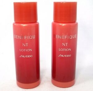 Lot/2 Shiseido Benefique NT Lotion ~ .94 fl oz. Each ~