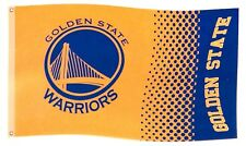Forever Collectibles - NBA Golden State Warriors Fade Flagge - Gelb