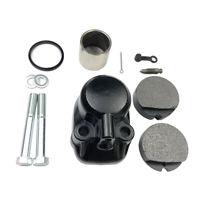 Front Brake Caliper Kit for Honda CB360/400F/450/500/550/750 Piston Seal w/Pads
