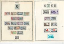 Bahamas Collection 1953-1971 on Minkus Specialty Pages, 11 Pages