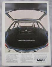 1978 Austin Maxi Original advert