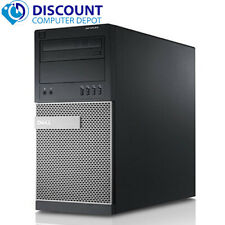 Dell Desktop Computer Quad Core i5 PC 16GB RAM 2TB HD + 120GB SSD Windows 10 Pro