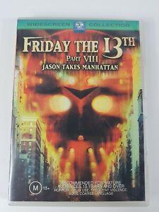 Friday The 13th Part VIII Jason Takes Manhattan DVD