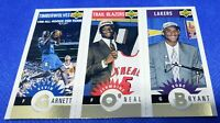 Kobe Bryant Garnett O'Neal RC Rookie1996-97 #129 UD Collectors Choice GOLD HOF