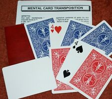 Mental Card Transpo - a trick so good it's been invented three times! Tmgs