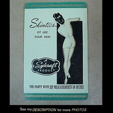 1930-40s Deck Advertising Playing Cards Skintees Panties Nude Pinup