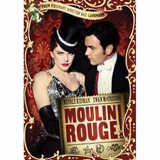 ~ Moulin Rouge Dvd - Nicole Kidman, Ewan McGregor - Factory Sealed