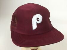 Vintage Unworn Philadelphia Phillies Hat Snapback Baseball Trucker Mesh Cap
