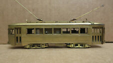 "NWSL Northwest Short Line 1930 Brill ""Master Unit"" #3 Powered Unpainted Brass HO"