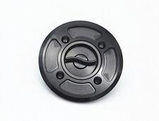 Motorcycle Fast Fuel Gas Cap Tank Cap Cover CNC Billet For DUCATI Scrambler Blac