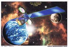 Z156 CPM thème ESPACE carte postale LOLLINI ARIANE  506 V 130  Sat GE 7 AL 89