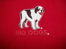 """BIG DOGS """" IT'S FIVE  O'CLOCK SOMEWHERE! RED COLOR SIZE MED. FREE SHIPPING"""